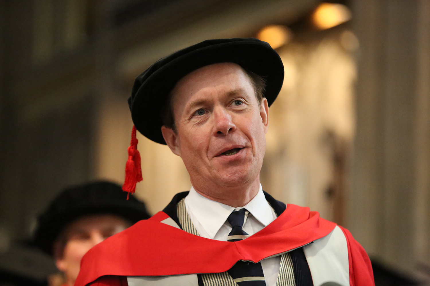 Alex Jennings receives honorary doctorate