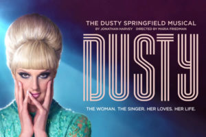 Katherine Kingsley in musical Dusty