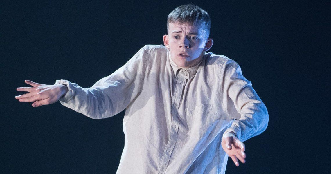 Max Revell in BBC Young Dancer Grand Final, image by Jeff Spicer